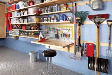 съхранение на инструменти в гаража